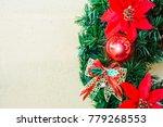 celebration merry christmas... | Shutterstock . vector #779268553