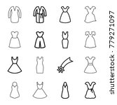 evening icons. set of 16