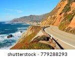 highway 1 running along pacific ... | Shutterstock . vector #779288293
