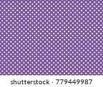 purple and white polka dot...   Shutterstock .eps vector #779449987