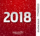 happy new year poster with... | Shutterstock .eps vector #779490313