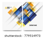 square business a4 brochure... | Shutterstock .eps vector #779514973