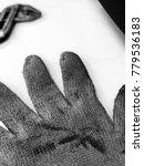 gloves and workmanship | Shutterstock . vector #779536183