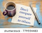 Do Not Compare Yourself To...