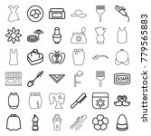 Beauty Icons. Set Of 36...