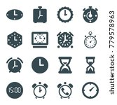 Countdown Icons. Set Of 16...