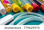 some vials with samples of... | Shutterstock . vector #779629573