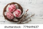 pysanky  decorated easter eggs... | Shutterstock . vector #779649637