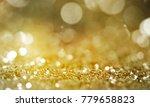 christmas light background. ... | Shutterstock . vector #779658823