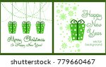 a set of christmas and new year ... | Shutterstock .eps vector #779660467