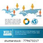 earth world infographic...   Shutterstock .eps vector #779673217