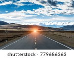 highland road to daocheng  china | Shutterstock . vector #779686363