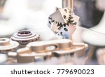 object printed on metal 3d... | Shutterstock . vector #779690023