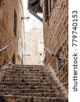stone old city jaffa in tel aviv   Shutterstock . vector #779740153