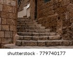 ancient stairs in stone old...   Shutterstock . vector #779740177