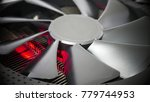 cooling system of powerful... | Shutterstock . vector #779744953