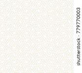 vector subtle seamless lattice... | Shutterstock .eps vector #779770003