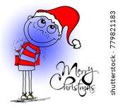 christmas sale  celebration 25... | Shutterstock .eps vector #779821183