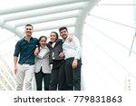 business people team support...   Shutterstock . vector #779831863