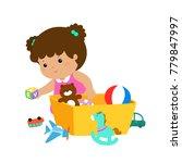 illustration of smiling kid...   Shutterstock .eps vector #779847997