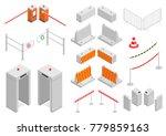set of elements infrastructure... | Shutterstock .eps vector #779859163
