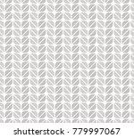 geometric leaves vector... | Shutterstock .eps vector #779997067