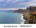 cliffs near kilt rock waterfall ... | Shutterstock . vector #780044917