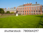 historical building with a... | Shutterstock . vector #780064297