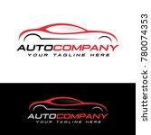 automotive logo vector | Shutterstock .eps vector #780074353