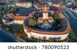 aerial view of prejmer... | Shutterstock . vector #780090523