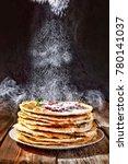 bakery. fresh bakery. pancakes. ... | Shutterstock . vector #780141037