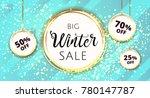 premium luxury winter christmas ...   Shutterstock .eps vector #780147787