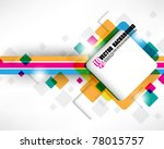 eps10 vector multicolor - stock vector