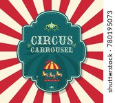 circus carnival banner | Shutterstock .eps vector #780195073