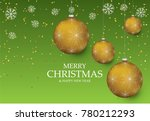 christmas light vector... | Shutterstock .eps vector #780212293
