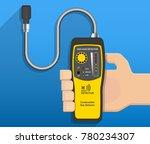 lpg ngv gas natural leakage... | Shutterstock .eps vector #780234307