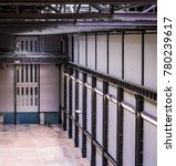 Small photo of LONDON, UK - CIRCA JUNE 2017: Turbine Hall at Tate Modern art gallery in South Bank power station (high dynamic range)