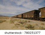 Long Train From Borax Mines...