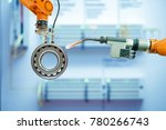 close up of industry robotic...   Shutterstock . vector #780266743