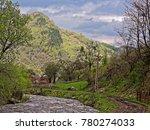 Small Creek In Rau Sadului...