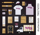 deliciously creative bakery... | Shutterstock . vector #780276553