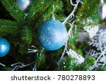 christmas decorations and toys... | Shutterstock . vector #780278893
