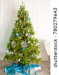christmas decorations and toys... | Shutterstock . vector #780279643