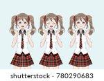 Group Of Anime  Manga  Girls O...