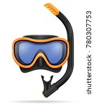 Diving Mask Stock Vector...