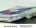 the image of documents | Shutterstock . vector #780362557
