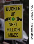 buckle up sign | Shutterstock . vector #780374737