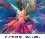 color splash series.... | Shutterstock . vector #780383857