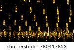 new year decoration lights | Shutterstock . vector #780417853