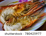 Roasted Giant River Prawns. It...